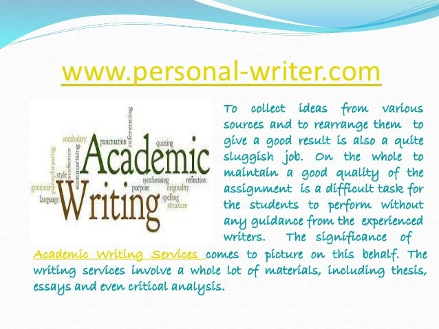 I need help with academic writing