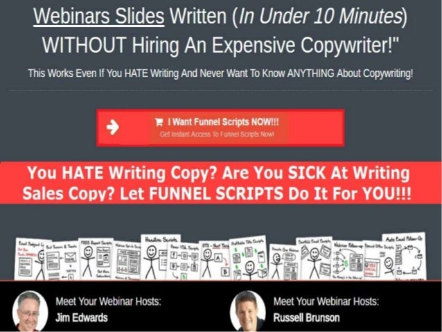 In the past you'd have to pay expensive copywriters anywhere from a few thousand dollars per funnel up to $20k or more...