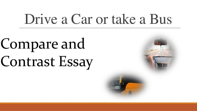 Essay compare between two cars