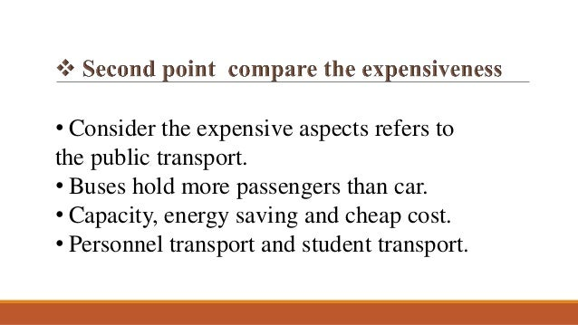 advantages of public transport essay By torsten belter, sandra sorofmaike von harten, (tu dresden) research paper about the  advantages and disadvantages of free public transport services.