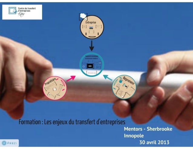 Centre de transfert d'entreprises de l'Estrie : Les enjeux du transfert d'entreprises