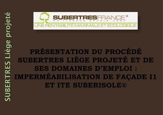 Notre objectif : Relancer la filière historique du liège dans leslandes de Gascogne et développer ce nouveau revêtement de...