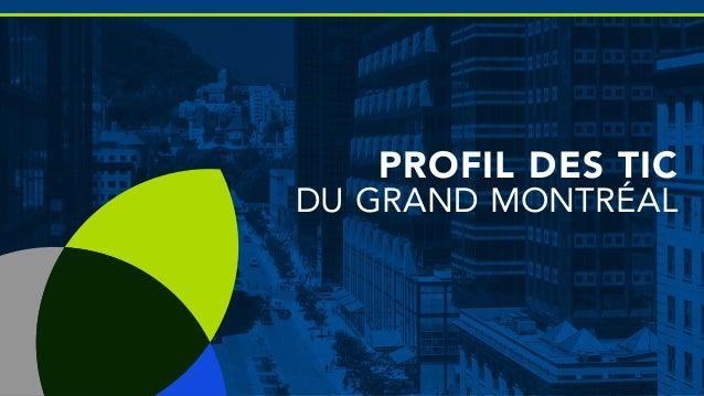 Profil des tic du grand montréal