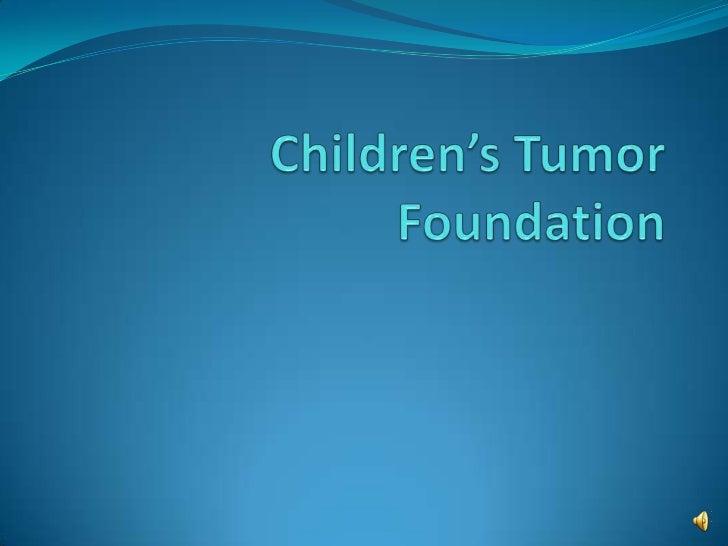 Children's Tumor Foundation<br />