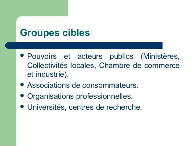 Presentation projet cncsa ci version fr for Chambre de commerce ci