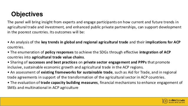 European Development Days Developments In Agricultural Trade An - Poorest caribbean countries