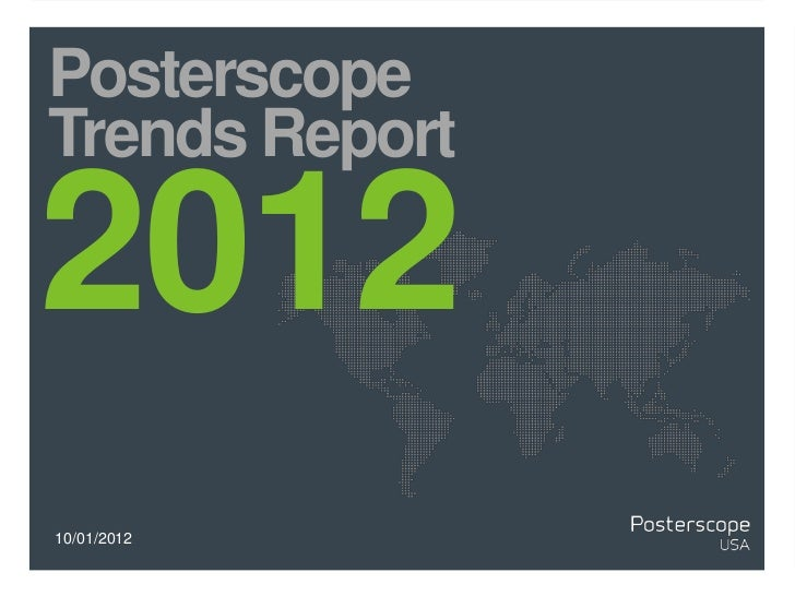 PosterscopeTrends Report201210/01/2012