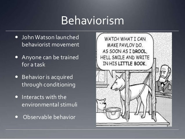 behaviorism psychological theories Behaviorism definition, the theory or doctrine that human or animal psychology can be accurately studied only through the examination and analysis of objectively observable and quantifiable behavioral events, in contrast with subjective mental states.