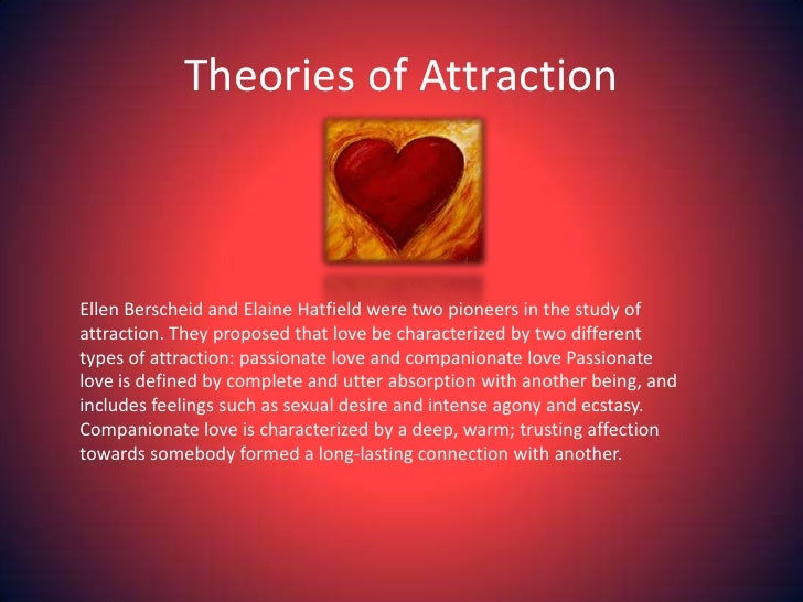Attraction and love difference