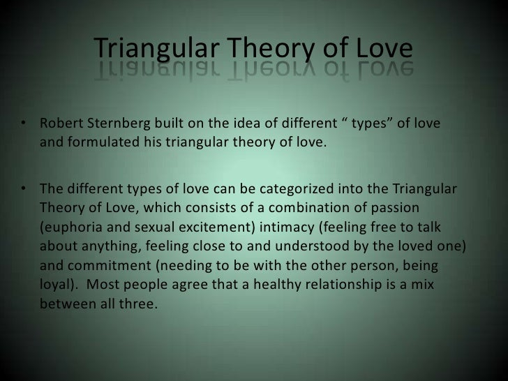 love attraction and quot the onequot