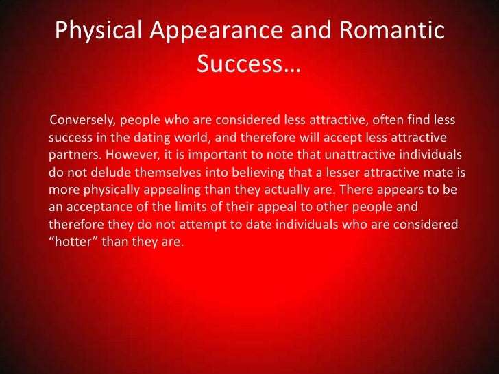 physical attraction and love