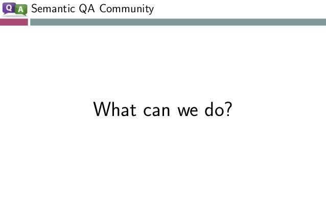 QA Community Join https://www.w3.org/community/nli/!