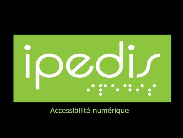 Accessibilité PDF Les avantages Les normes Pour quel public?