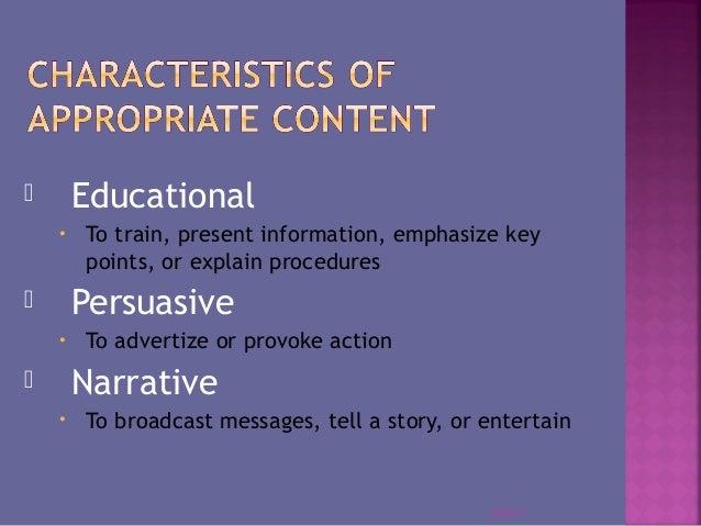 Presentation purpose (1) Slide 3