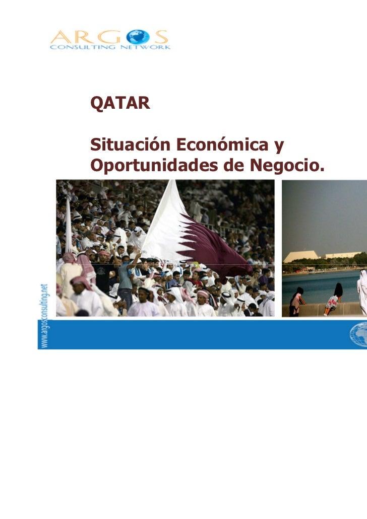 QATARSituación Económica yOportunidades de Negocio.