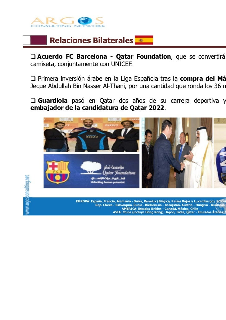 Presentaci n global de qatar for Oficina qatar barcelona