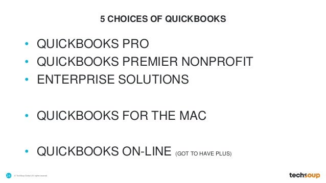 Quickbooks For Nonprofits Mac