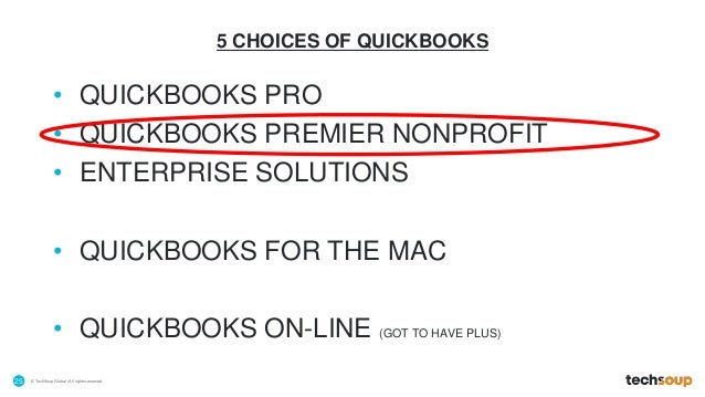 Quickbooks for nonprofits churches