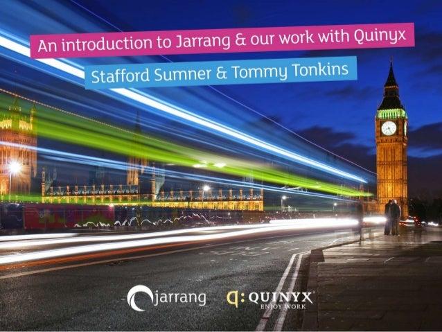 Quinyx Presentation