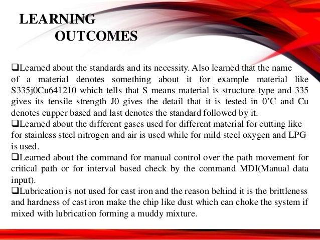 Industrial training presentation (mechanical engineering)