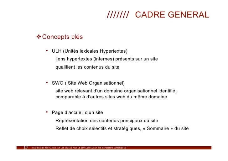 Taxonomie liens hypertextes Slide 3