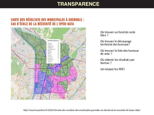 LES DONNÉESTRANSPARENCE http://www.la-peniche.fr/2014/03/carte-des-resultats-des-municipales-grenoble-cas-decole-de-la-nec...