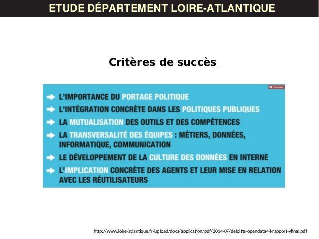 ETUDE DÉPARTEMENT LOIRE-ATLANTIQUE Critères de succès http://www.loire-atlantique.fr/upload/docs/application/pdf/2014-07/d...