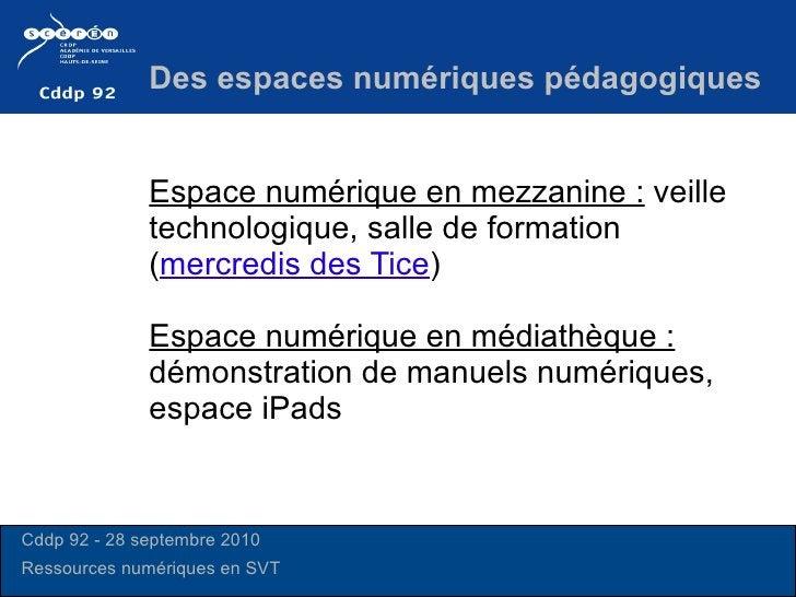 Espace numérique en mezzanine:  veille technologique, salle de formation ( mercredis des Tice ) Espace numérique en média...