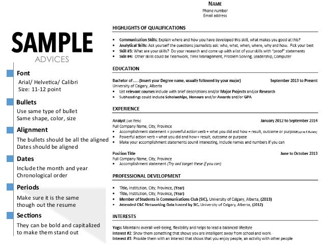 how to create great resumes