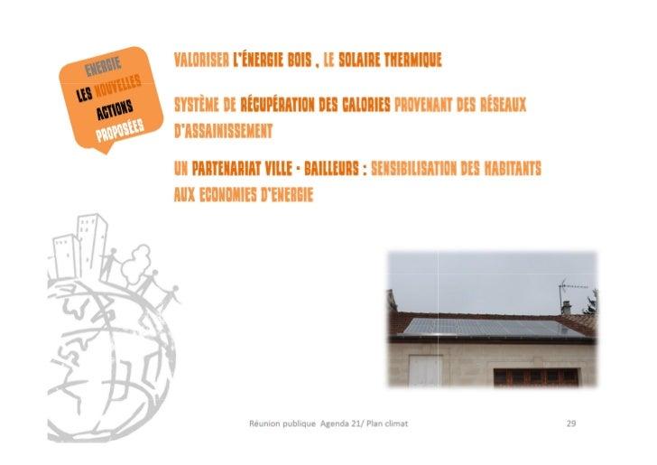 Présentation réunion publique Agenda21