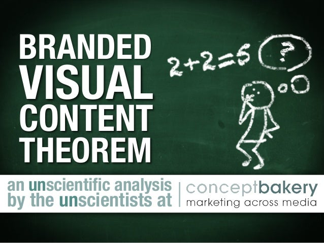 BRANDED ! VISUAL ! CONTENT! THEOREMan unscientific analysis by the unscientists at