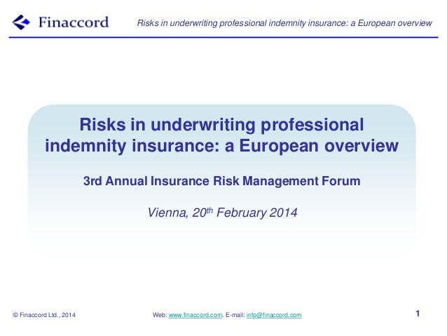 Protection and indemnity insurance