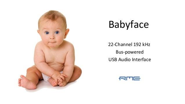 Babyface 22-Channel 192 kHz Bus-powered USB Audio Interface