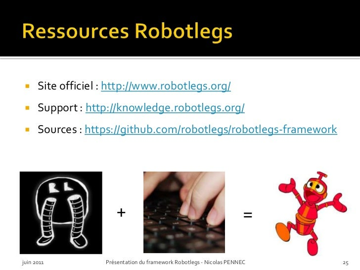 Ressources Robotlegs<br />Site officiel : http://www.robotlegs.org/<br />Support : http://knowledge.robotlegs.org/<br />So...