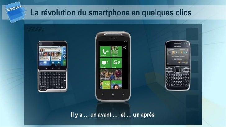 La révolution du smartphone en quelques clics           Il y a … un avant … et … un après