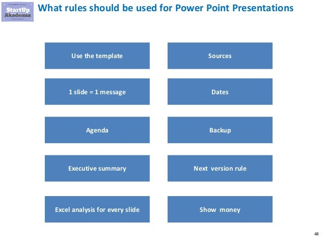 How to create a management consulting presentation