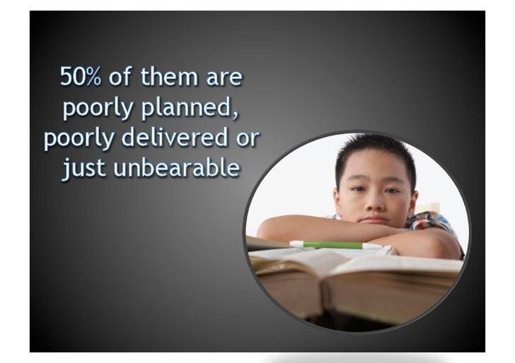 Tips for Creating and Delivering Effective Presentations Slide 3