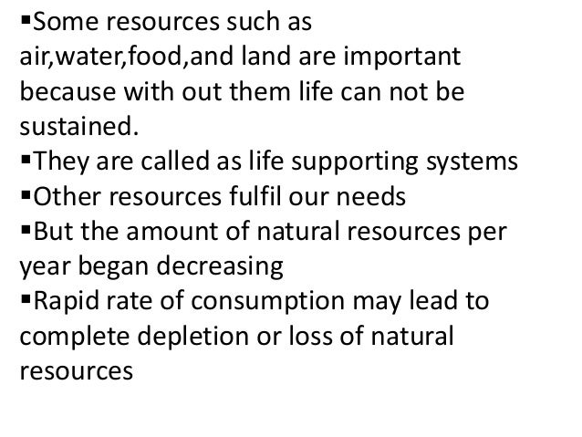 Essay on Natural Resources: Top 4 Essays | Geography