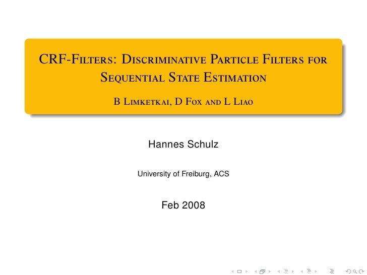 CRF-F: D P F           S S E             B L, D F  L...