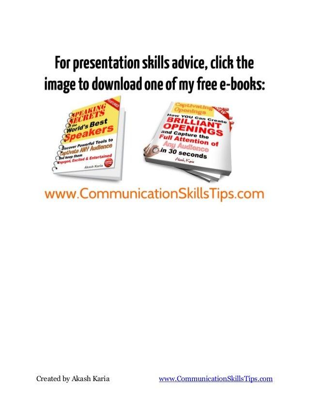 Presentation secrets of anthony robbins how to speak and motivate like tony Slide 3