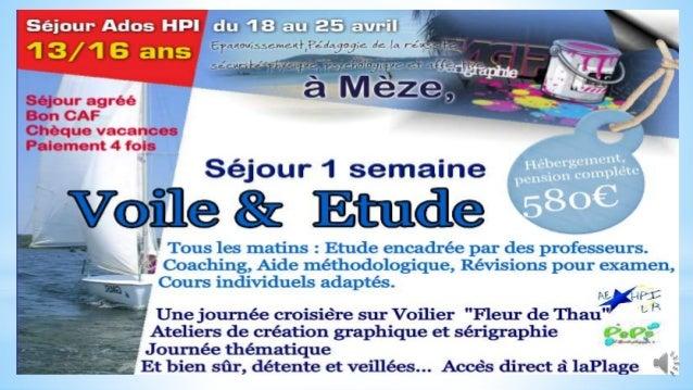 Niché à proximité du petit port de Mèze (Hérault) ,le centre bénéficie d'un emplacement exceptionnel avec terrasse, cour o...