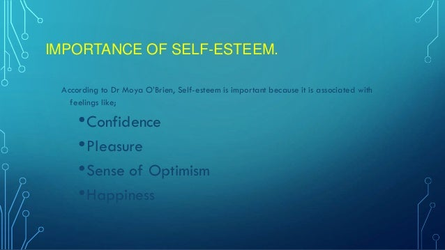 How self presentation can effect self esteem in online dating