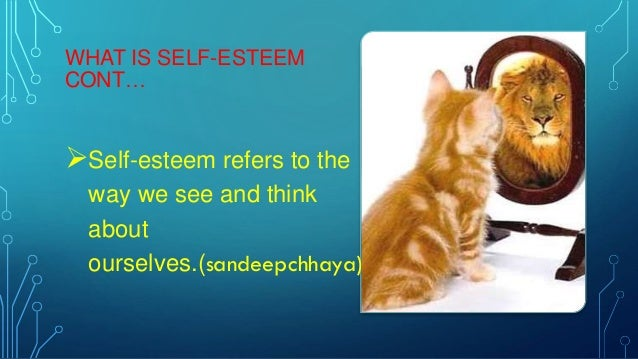presentation self esteem