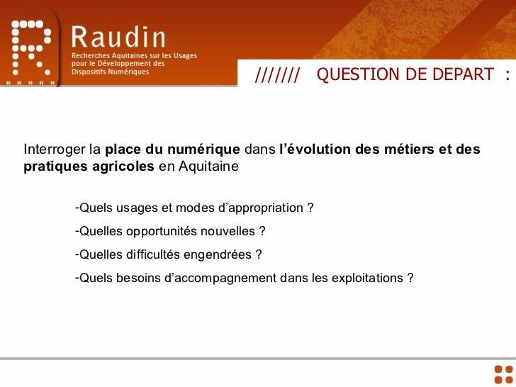 Presentation seminaire 14/12 Agriculture et TIC Slide 3