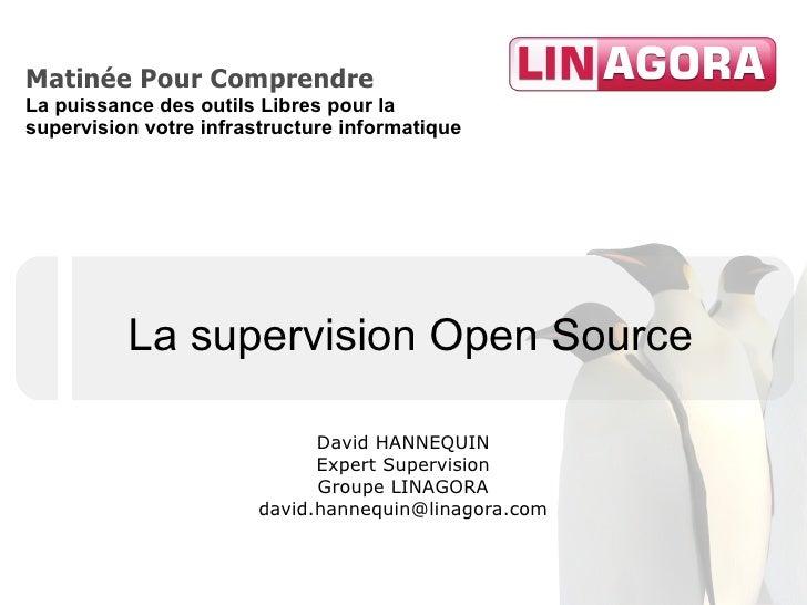 Matinée Pour Comprendre La puissance des outils Libres pour la supervision votre infrastructure informatique              ...