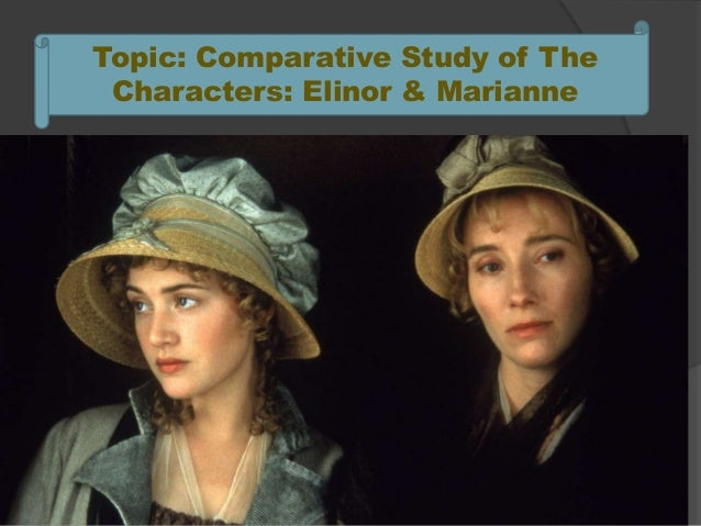 sense and sensibility elinor marianne essay In this essay, i will be comparing two sets of sisters, elinor and marianne from  jane austen's sense and sensibility and josephina and constantia from.
