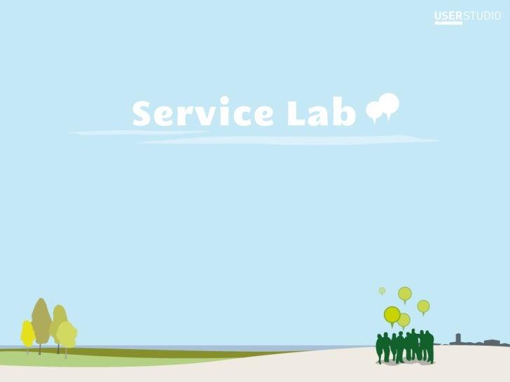 Service Lab, c'estune gamme d'outils etméthodes qui facilitent laco-création avec les habitants.