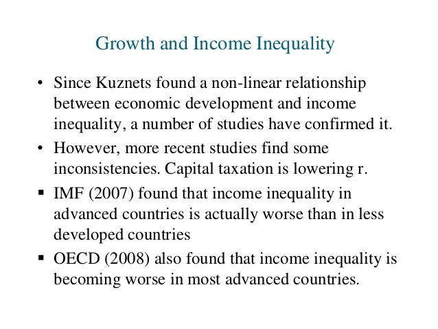 income inequality and development in uganda There was much interest in income inequality in developing countries in the  to affect the level of income inequality at any stage of development.