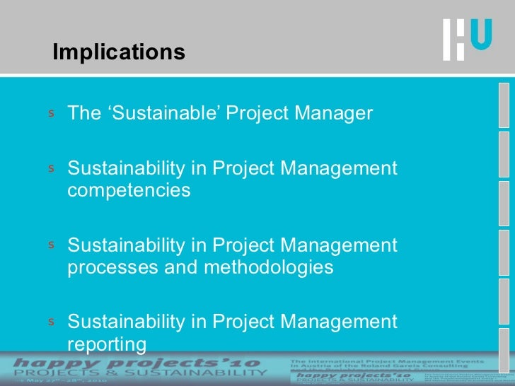 sustainable business management team project The master of business administration, or mba, is the most popular educational   and project management — from the perspective of a sustainable business.