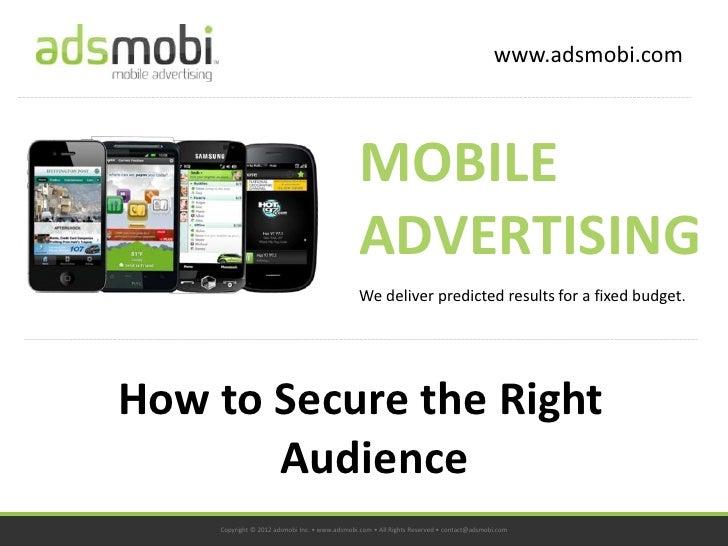 www.adsmobi.com                                               MOBILE                                               ADVERTI...